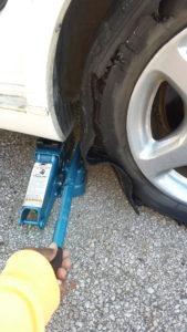 Tire Jack Placement